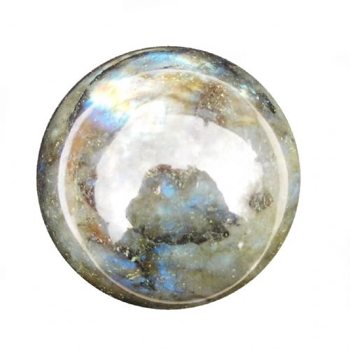 Labradorite Crystal Ball Scrying Divination Fortune Telling Sphere 54mm 230g LA7